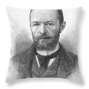 Emil Von Behring (1854-1917) Throw Pillow