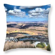 Endless Mountains Throw Pillow