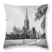 England: Salisbury Throw Pillow