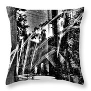 Enter  Throw Pillow