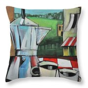 Espresso My Love Throw Pillow
