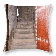 Essaouira In Morocco Throw Pillow