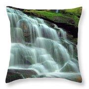 Evening At The Falls Throw Pillow