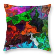 Experiment In Dementia Throw Pillow