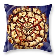 Exploding Clock Throw Pillow