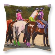 Fair On Deck Throw Pillow