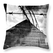 Farmers Help Throw Pillow