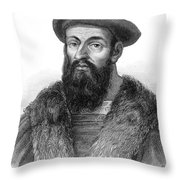 Ferdinand Magellan Throw Pillow