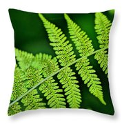 Fern Seed Throw Pillow