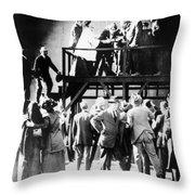 Film: Intolerance, 1916 Throw Pillow by Granger