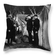 Film Still: Abraham Lincoln Throw Pillow