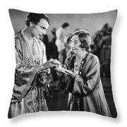 Film Still: Fortune Telling Throw Pillow