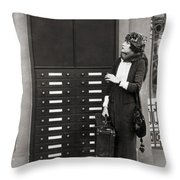Film: Transportation: Misc Throw Pillow