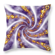 Fire And Wind Throw Pillow