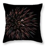 Fireworks Fun 3 Throw Pillow