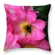 Floral 0017 Throw Pillow