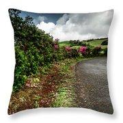 Flores Island - Azores Throw Pillow