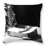 Follow The Light Throw Pillow by Jerry Cordeiro