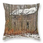 Forgotten Dreams Throw Pillow by Pamela Baker