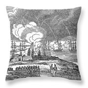Fort Mchenry, 1814 Throw Pillow