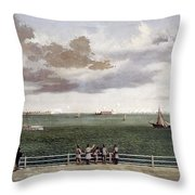 Fort Sumter, 1861 Throw Pillow