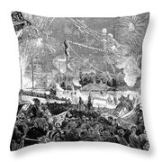 Fourth Of July, 1876 Throw Pillow