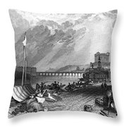 France: Saumur Throw Pillow