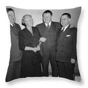 Frances P. Bolton (1885-1977) Throw Pillow by Granger
