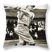 Frankie Frisch (1898-1973) Throw Pillow