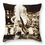 Fred Snodgrass (1887-1974) Throw Pillow