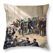 Frederick Douglass, 1860 Throw Pillow