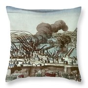 French Revolution, 1793 Throw Pillow