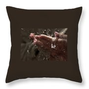 Fresh Splash  Throw Pillow