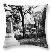 Friedrich Hecker Throw Pillow