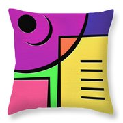 Games Throw Pillow by Ely Arsha