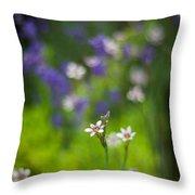 Garden Of Bliss Throw Pillow