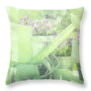 Garden Tools For Spring Planting  Throw Pillow