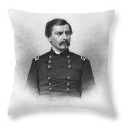 George Brinton Mcclellan Throw Pillow