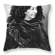 George Sand, French Author And Feminist Throw Pillow