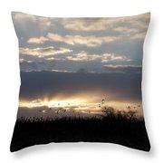 Gettysburg Dawn Throw Pillow