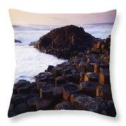 Giants Causeway, Co Antrim, Ireland Throw Pillow