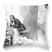 Gibson: Gibson Girl, 1903 Throw Pillow