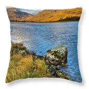 Glen Gour View Throw Pillow