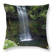 Glencar Waterfall, Co Sligo, Ireland Throw Pillow
