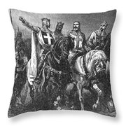 Godfrey (1058-1100) Throw Pillow