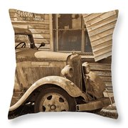 Good Old Days Throw Pillow