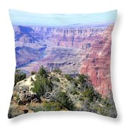 Grand Canyon 8 Throw Pillow