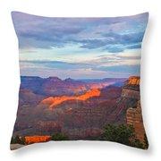 Grand Canyon Grand Sky Throw Pillow