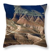 Grand Canyon Rock Formations IIi Throw Pillow