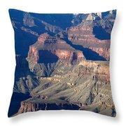 Grand Canyon Shadows Throw Pillow